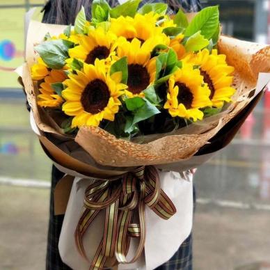 向日葵-花束C